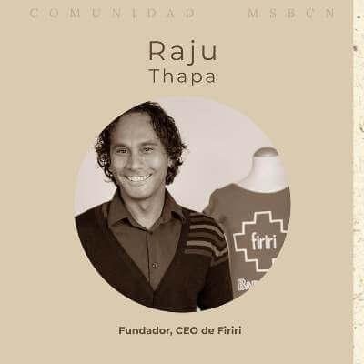 Comunidad MSBCN: Entrevista Raju Thapa
