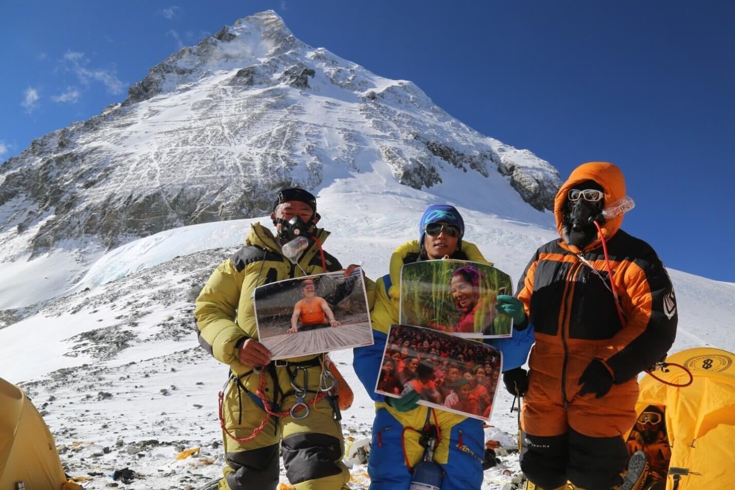 Exposición fotográfica mujeres, Everest, Nepal