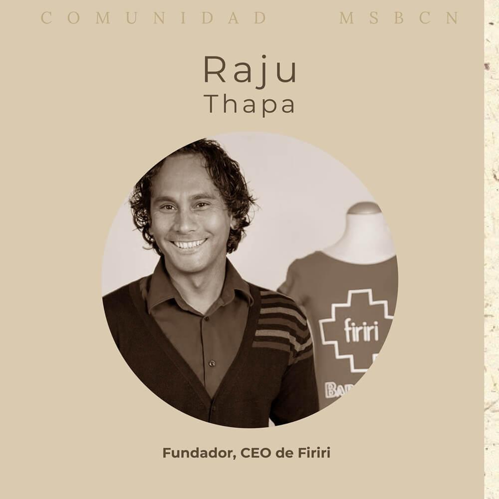 Entrevista Raju Thapa