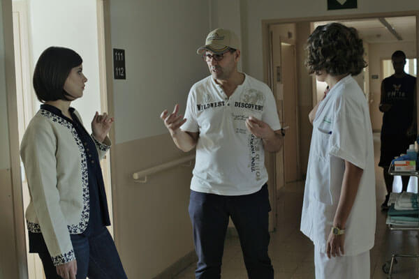 Actriz Mariona Ribas con director Jaime Khleout & Actriz Miriam Tortosa
