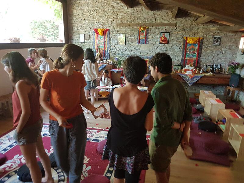 Casa Virupa, centro de meditación y retiros