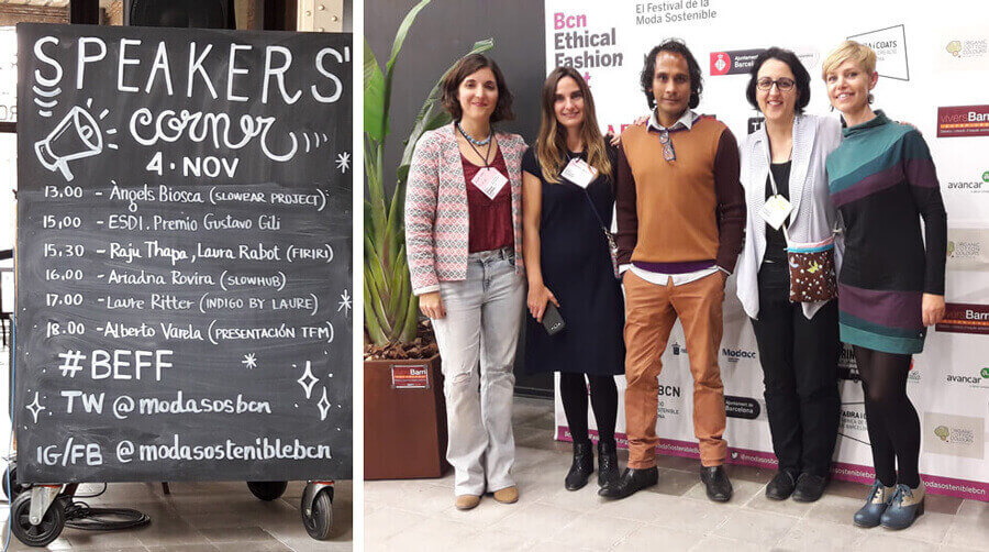Speakers corner, BCN Ethical Fashion